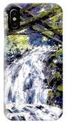 Shepherds Dell Falls Coumbia Gorge Or IPhone Case