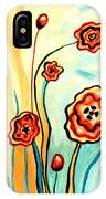 Sherbert And Powder Blue Skies IPhone Case