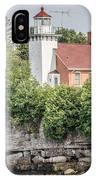 Sherwood Point Lighthouse IPhone Case