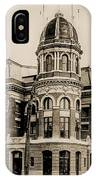 Shibe Park 1913 In Sepia IPhone Case
