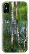 Shimmering Reflection IPhone Case