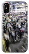 Shinjuku People Rush IPhone Case