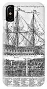 Ship Of War Plans IPhone Case