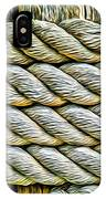 Ship Rope Anchored IPhone Case
