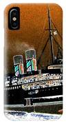 Shipshape 4 IPhone Case