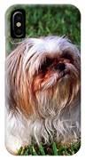 Shitzu Dog IPhone Case