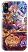 Shiva Parvati IPhone Case