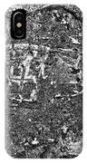 Shoe Print In Concrete IPhone Case