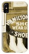 Shoe Shopping In The 30's IPhone Case