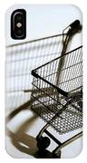 Shopping Cart Reflection Art  IPhone Case
