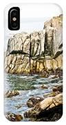 Shores Of Pebble Beach IPhone Case
