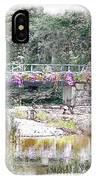 Shorey Park Bridge I IPhone Case