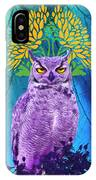 Owl At Night IPhone Case