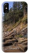 Short Sands Waterfall IPhone Case