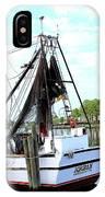 Shrimp Boat IPhone X Case