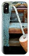 Shrimp Boat Detail IPhone Case