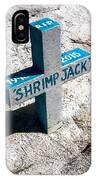 Shrimp Jack IPhone Case