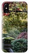 Shrine In Watercolors IPhone Case