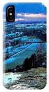 Shropshire Winter Sunset Scene IPhone Case