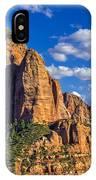 Shuntavi Butte IPhone Case