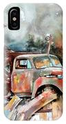 Shuttered And Cluttered And Gone IPhone Case