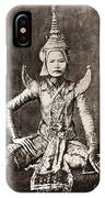 Siam: Dancer, C1870 IPhone Case