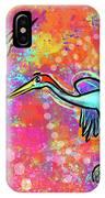 Siberian Cranes IPhone Case