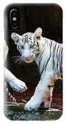 Siberian Tiger Cubs IPhone Case