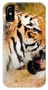 Siberian Tiger In Profile IPhone Case