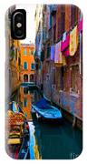 Side Canal  Venice IPhone Case
