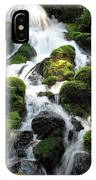 Side Of Clearwater Falls IPhone Case