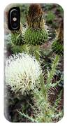 Side Thistle  IPhone Case
