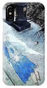 Sidewalk Angel IPhone Case