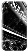 Sideways Train IPhone Case