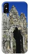 Siem Reap, Angkor Thom IPhone Case