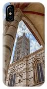Siena Cathedral Tower Framed By Arch IPhone X Case