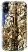 Siena Duomo Statues 2 IPhone Case