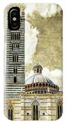 Siena Duomo Tower And Cupola IPhone Case