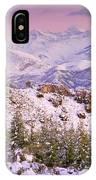 Sierra Nevada At Sunset IPhone Case
