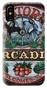 Sign - Welcome To Arcadia IPhone Case