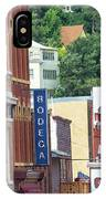 Signs And Historic Buildings IPhone Case