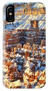 Silent City Snowy Sunrise IPhone Case