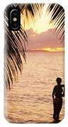 Silhouetted Couple IPhone X Case