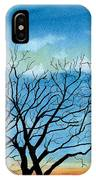 Silhouettes Against The Sky IPhone Case