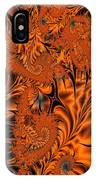 Silk In Orange IPhone Case