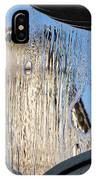 Silken Fountain Curtain -  IPhone Case