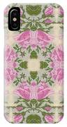Silky Rose IPhone Case