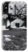 Silo In Black And White IPhone Case