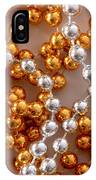 Silver And Gold IPhone Case