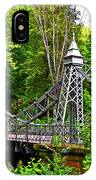 Silver Bridge 004 IPhone Case